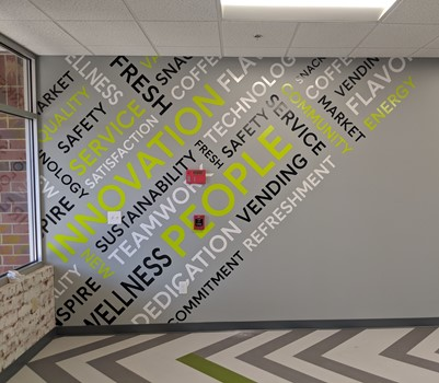 Wall Mural for Canteen High Point, NC